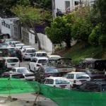 Yangon traffic car import fuel oil construction