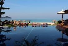 Tourist ngapali beach rakhine