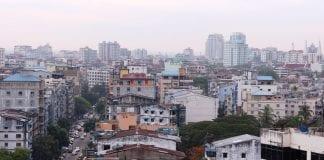 Yangon real estate skyline property river bridge construction trade investment economy (25)
