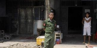 child soldier reuters