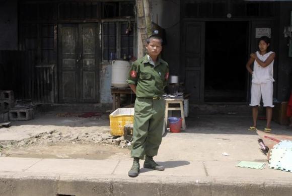 child soldier reuters