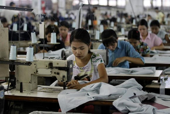 myanmar garment labour investment