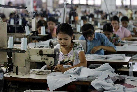 myanmar garment labour investment