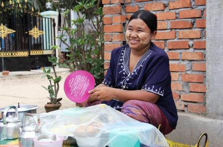 A woman beneficiary of Swan Yi Program