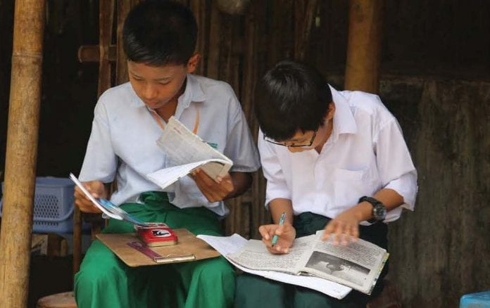 Education myanmar student business today