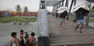 Myamar trade rice labour export port economy investment