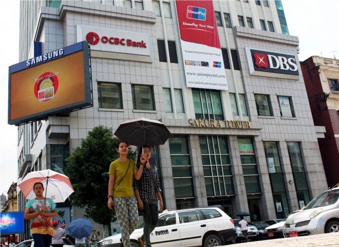 OCBC DBS foreign bank sakura yangon - Copy
