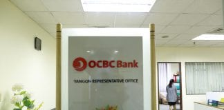 OCBC bank foreign bank yangon