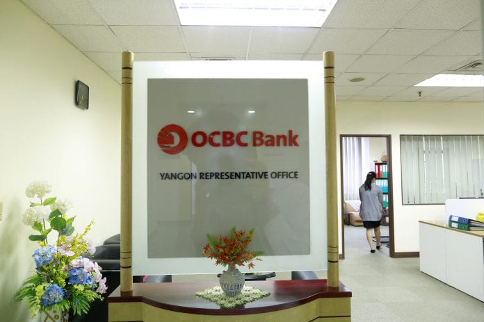 OCBC bank foreign bank yangon