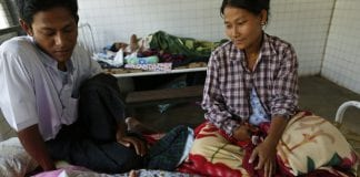 myanmar healthcare clinic medical treatment child