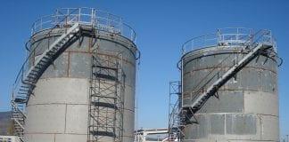 oil tank storage