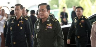prayuth chan ocha thai junta army chief
