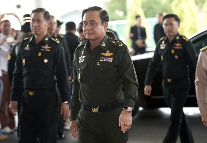 prayuth chan ocha thai junta army chief