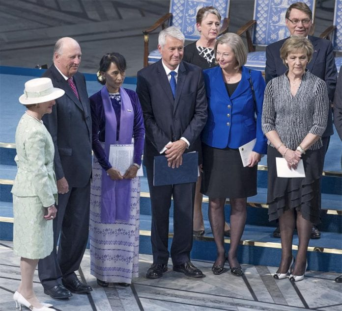 suu kyi norway king and queen