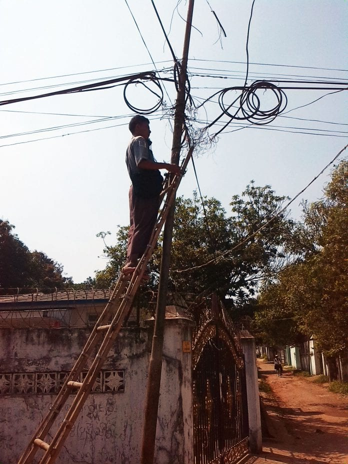 yangon power grid electricity