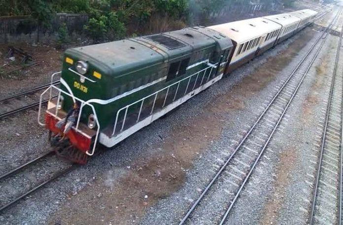 yangon train circle line myanmar