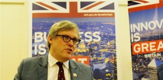 Andrew Patrick British Ambassador Myanmar