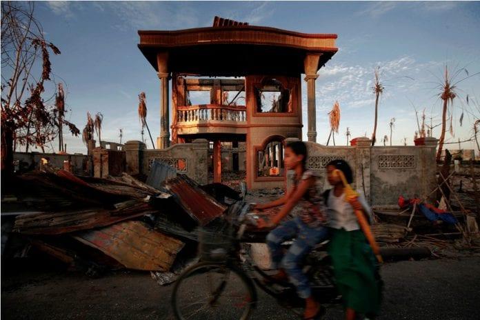 Kyaukphyu rakhine state violence sez economic zone