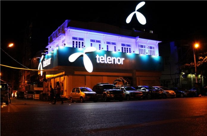 Telenor mobile telecom it myanmar yangon