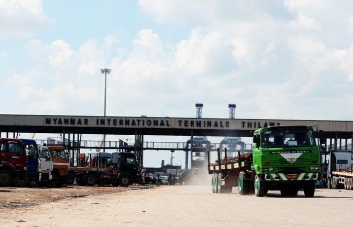 Thilawa port sez special economic zone terminal