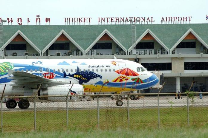 bangkok air phuket international airport