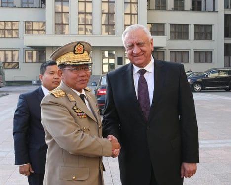 belarus myanmar Prime Minister Mikhail Myasnikovich