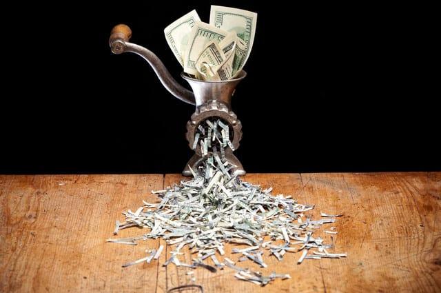 financial advice dollar lost