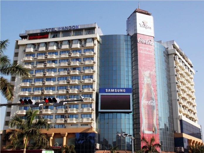 hotel yangon property