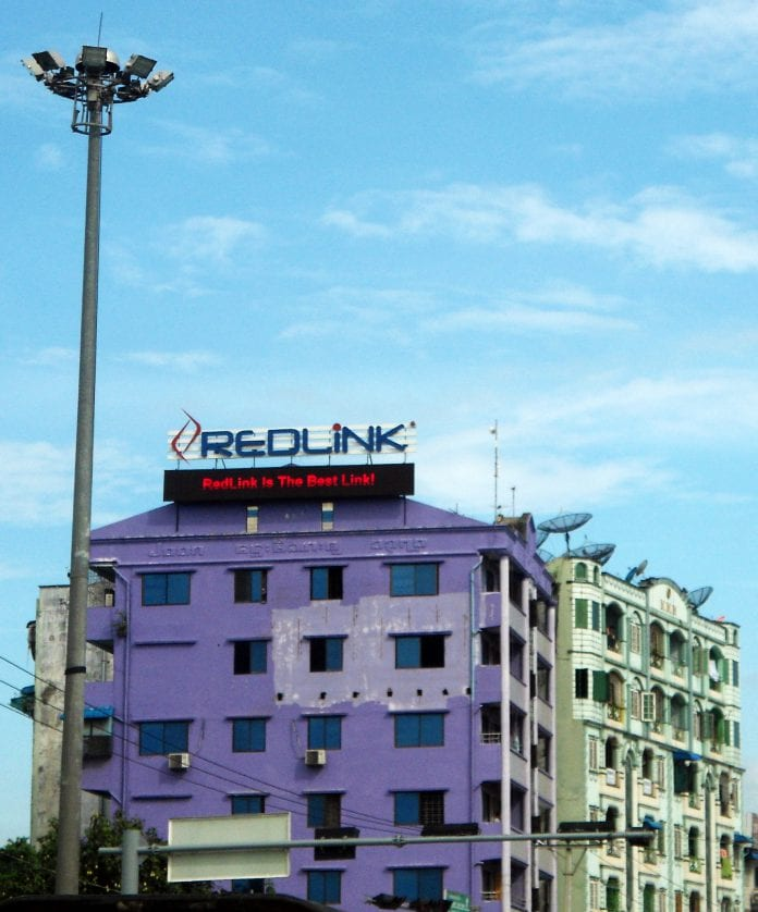 redlink myanmar telecom it internet