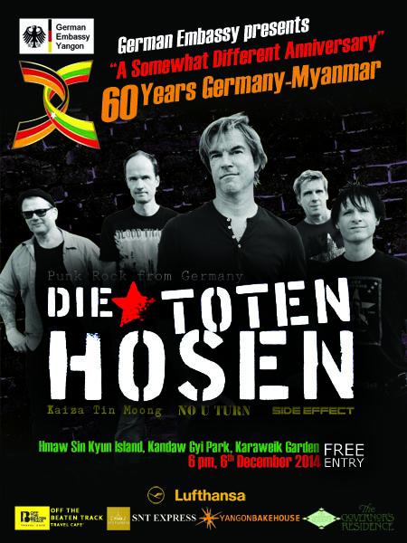 Die Toten Hosen poster