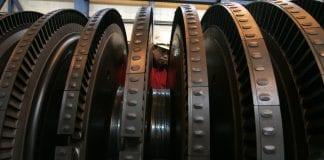 GE Power plant turbine gas engine 2