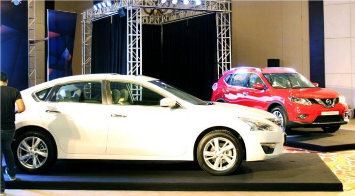 Nissan Altima and X-Trail