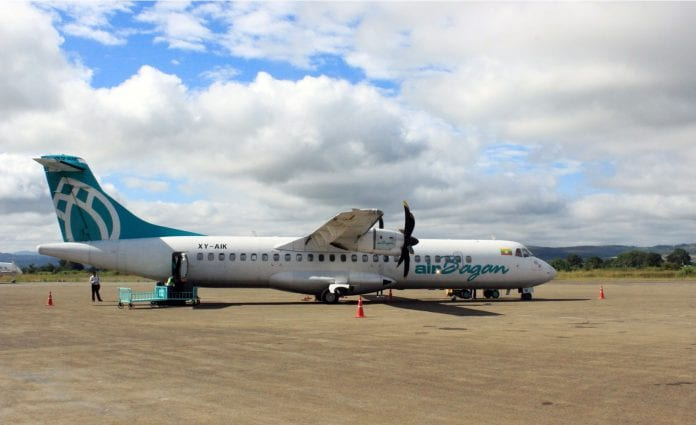 Shan heho airport air bagan plane aviation morley
