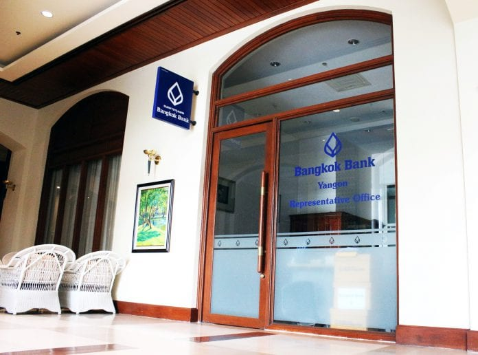 bangkok bank rep office yangon