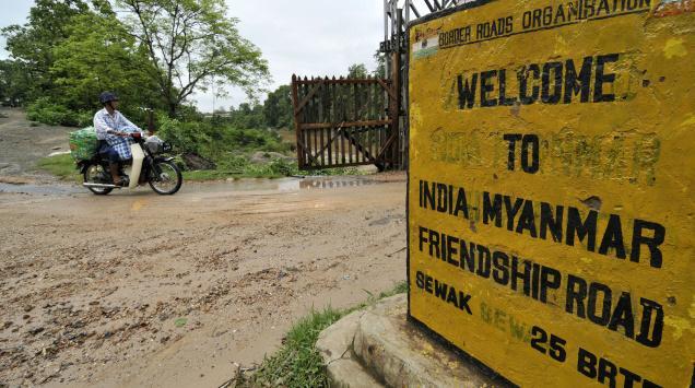 india myanmar business border trade