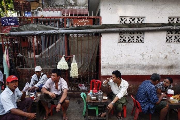 myanmar tea economy religion export
