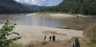 salween dam protest river thai myanmar