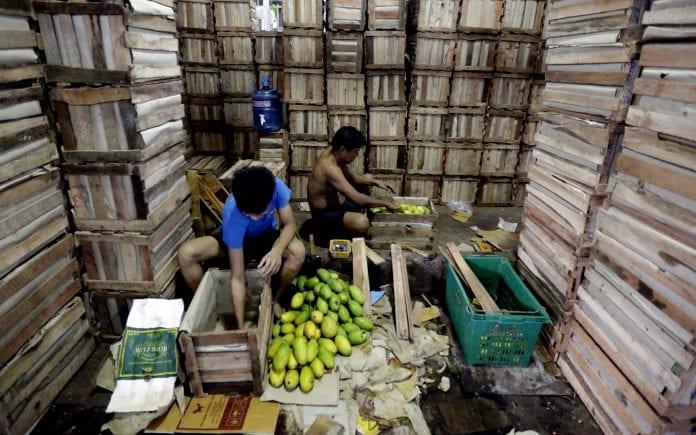 Myanmar mango fruit vegetable exports port labour labor economy investment business yangon local (2)