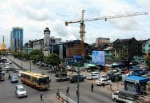 Myanmar sule yangon downtown economy property cosntruction economy investment real estate - Copy