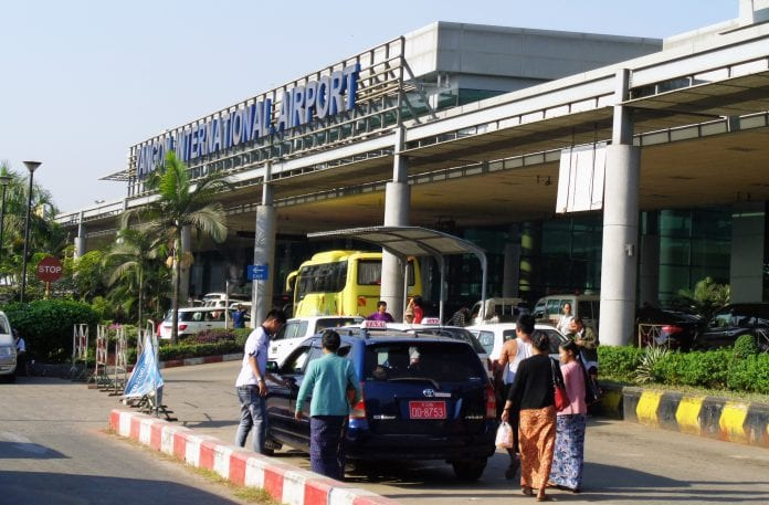 Yangon international airport aviation