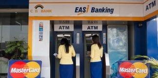 cb bank master card bank myanmar