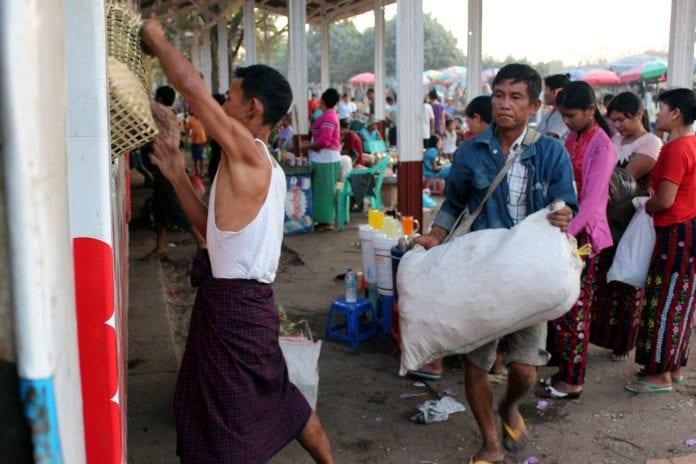 development oecd kyat labour agriculture yangon