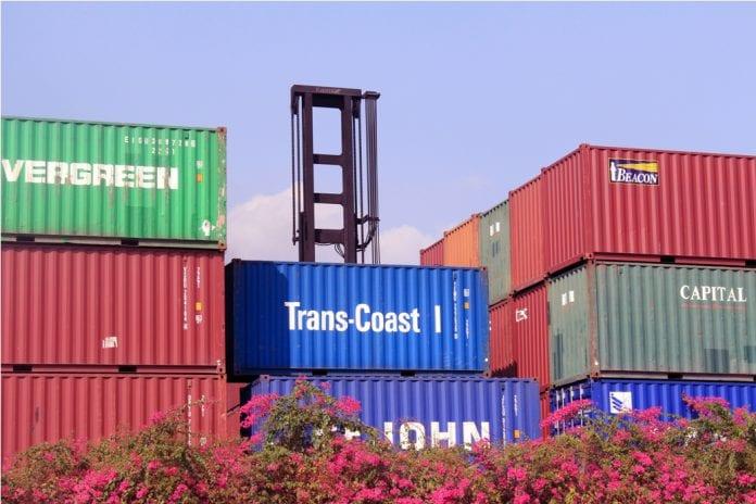 export container economy
