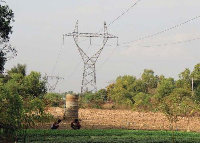 hydropower power station electricity energy economy field farmer
