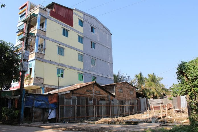 land property housing real estate construction yangon