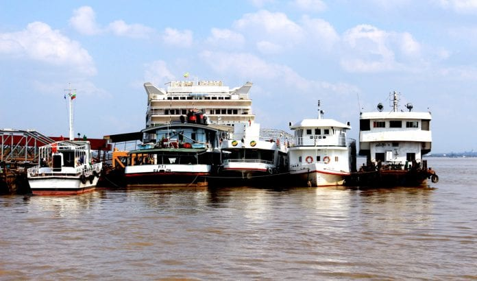 water transport ship boat inland IWT jetty river