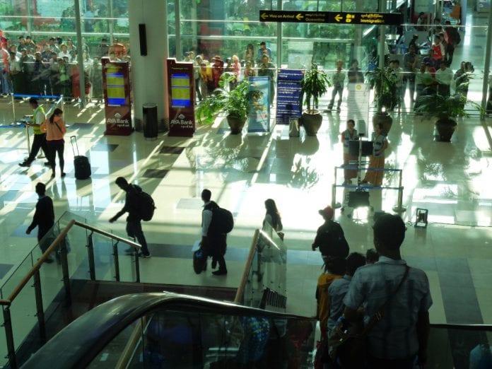 yangon international airport tourist visa