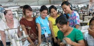 Myanamr garment worker smart switch EU