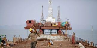 Myanmar growth development economy SEZ Essar Kyaukphyu construction port labour