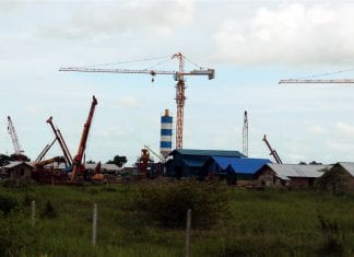 Myanmar industrial zone land property construction